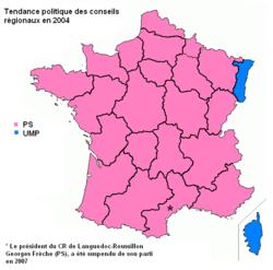 Elections régionales 2004